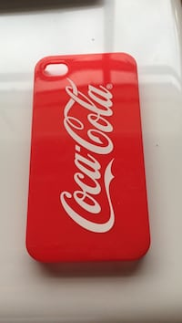 Rødt Coca-Cola iPhone-etui