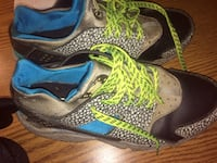 pair of black-and-green Nike basketball shoes Oxon Hill, 20745