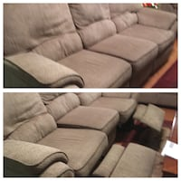 gray fabric sectional sofa collage El Paso, 79936