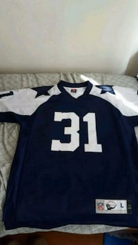 blue and white NFL jersey Virginia Beach, 23452