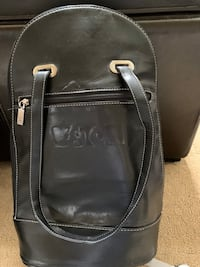 Leather wine bag never used