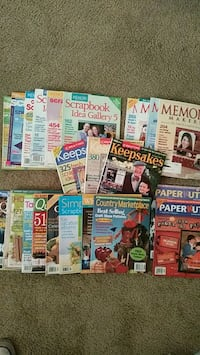 Scrabook & Craft Magazines