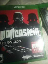 Wolfenstein Xbox One game case