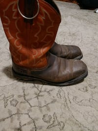 Ariat steel toe boots