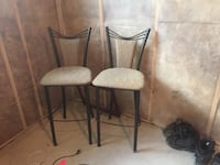 Gray padded chair Airdrie, T4B 0P3