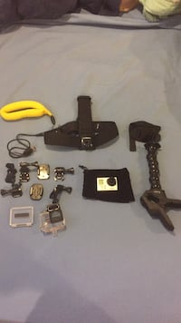 GoPro and accesories(used once) Vienna, 22180