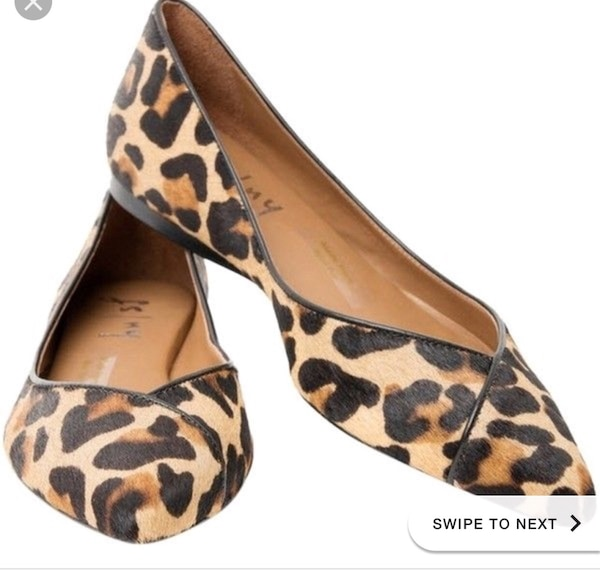 Women's leopard print shoes