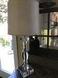 Modern Glass lamp Bowmanville