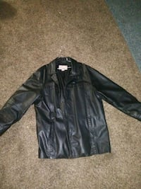 black leather button up jacket Chattanooga, 37405
