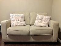 Beige Ashley Love Seat / Sofa - Used Brampton, L7A