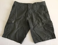 Kuhl Born In The Mountains Dark Gray Outdoor Hiking Trail Shorts Mens Sz 36 Vtg Tempe