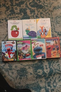 Dvd baby enistein and sesame street dvds