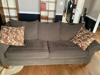 Sofa with pull out and matching chair Stafford, 22554