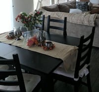 IKEA Extendable Dining Table and Chairs & Cushions Washington, 20007