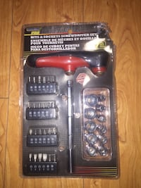 Duramax Pro Bits & Sockets Screwdriver Set, NEW! Toronto