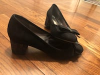 Black sparkly heel shoes size 8  Toronto