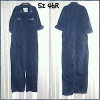 US NAVY COVERALLS OVERALLS SIZE 46R (READ)  Ontario, 91762