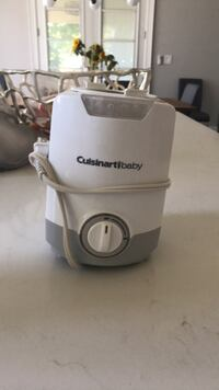 white and gray Cuisinart electric kettle King, L0G