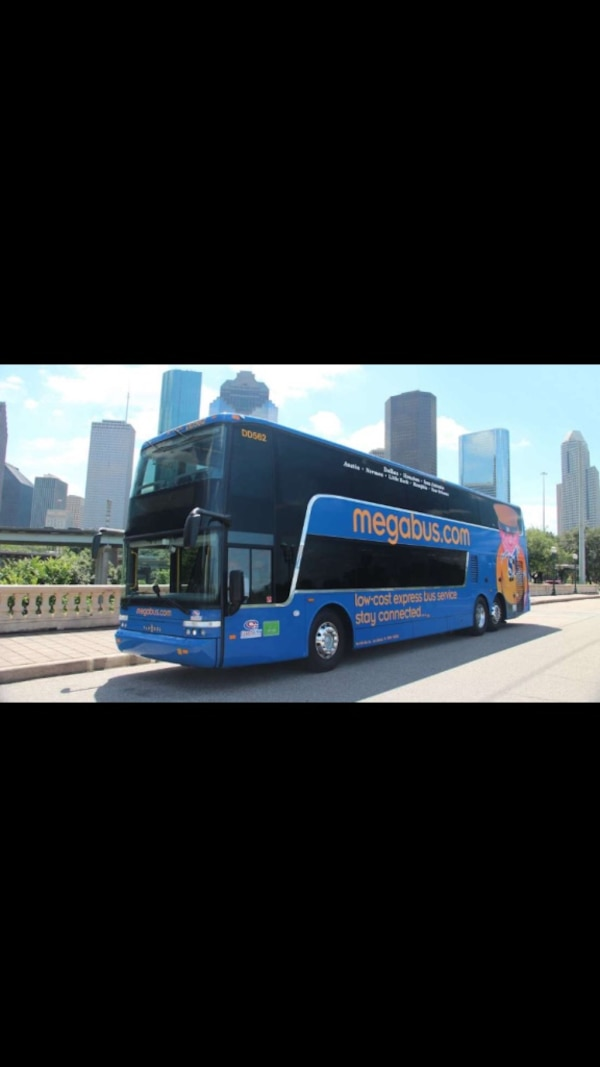 MEGABUS TICKETS FOR 50% OFF