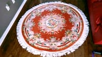 Area Rug 5x5 foot Floral Wool Silk Hand Knot Whitchurch-Stouffville, L4A 0J5