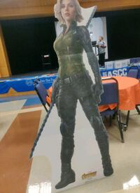 Black widow cardboard cutout  Vancouver, 98661