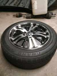 """15"""" RTX wheels with tires ($700 OBO) Toronto, M9A 5B1"""