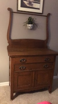 brown wooden dresser with mirror Holmes Beach, 34217