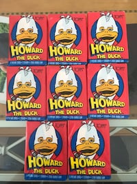1986 Marvel Howard The Duck trading cards Toms River, 08757