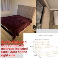 Queen bed  Santa Ana