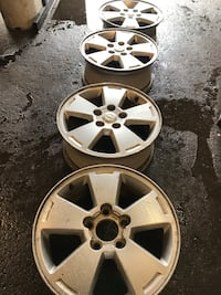 Factory rims for a 08 impala rims only 4