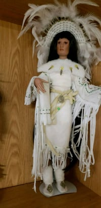Porcelain Indian doll PG Hagerstown, 21740