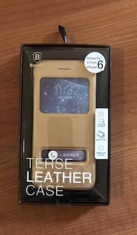 Terse leather case