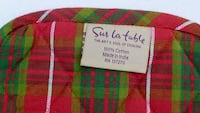 A Pair of  Charming Sur La Table Plaid Pot Holders (new) $5 for BOTH Bethesda, MD, USA