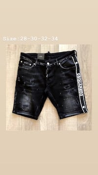 DSQUARED short JEANS Mississauga