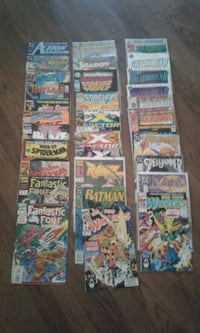 assorted comic book collection screenshot Victoria, V8W 2G5