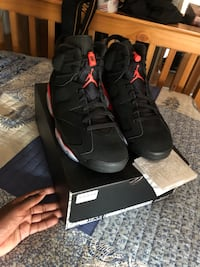 Infrared 6s size 10.5 ds Toronto, M6M 2A1