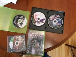 xbox360 video games + xbox game
