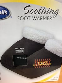 Dr. Scholls soothing foot warmer Washington, 20011