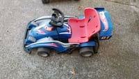 Hot wheel race car come with battery and charger runs20 25min charged
