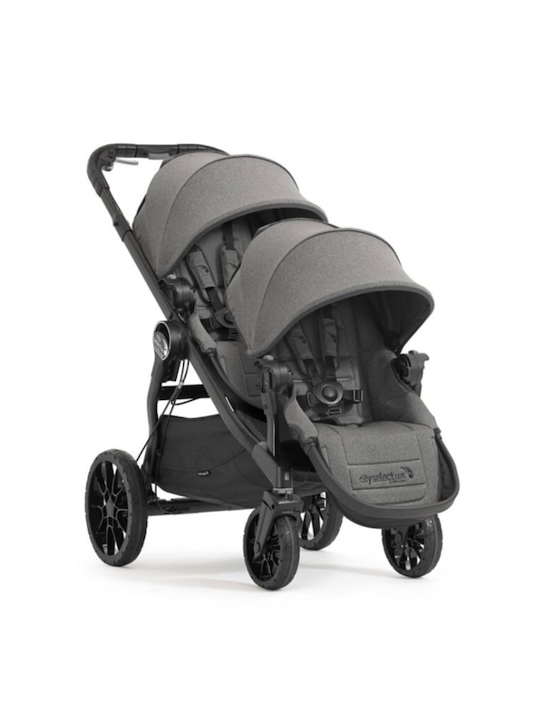 Baby Jogger City Select Lux Double Stroller Color Ash