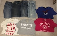 YOUNG MEN HOLLISTER/ AMERICAN EAGLE CLOTHING LOT Sanford, 32771