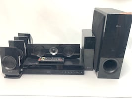 LG HOME THEATER SYSTEM WITH BUILT IN WIFI.