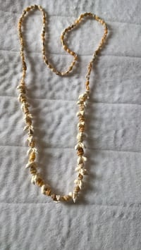 Necklace made from shells, from Hawaii