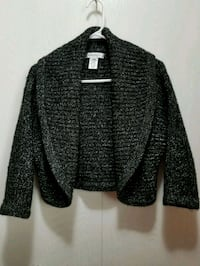 black and gray knitted cardigan Calgary, T3J 1P9