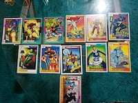 assorted marvel  trading cards 1991 New York, 11377