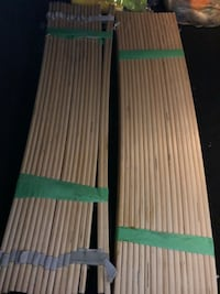 green and white wooden bed frame Toronto, M3A 3M3