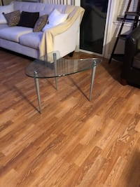 two clear glass top side tables Salinas, 93906