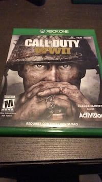 Call of Duty WWII Xbox One Houston, 77027