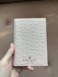 Kate Spade leather passport holder