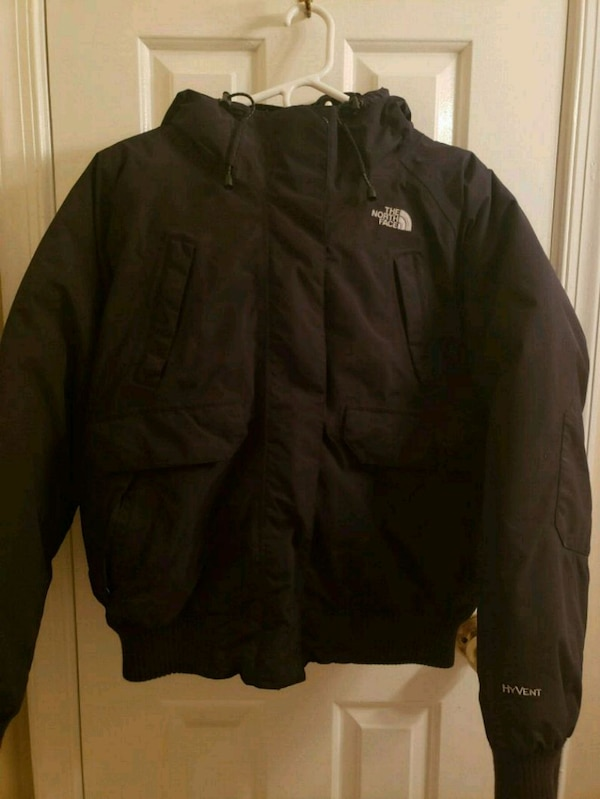 North Face HyVent Hooded Womens Large Jacket